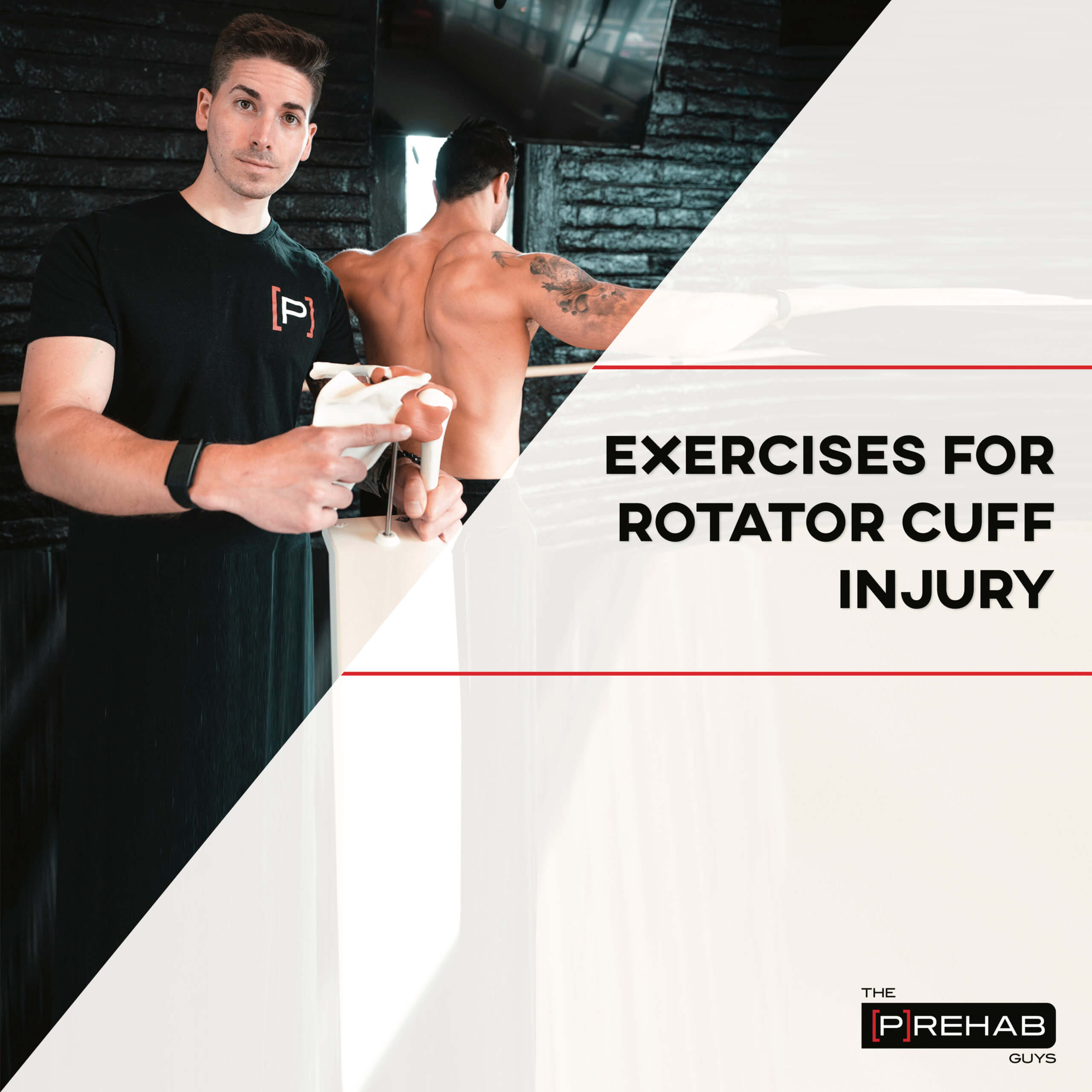 exercises for shoulder prehab guys rotator cuff
