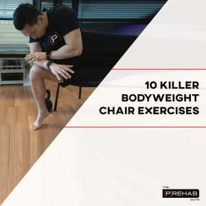 bodyweight chair exercises how to live well with lymphedema the prehab guys