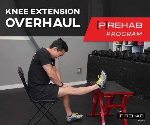 improve knee extension after surgery to stay strong the prehab guys