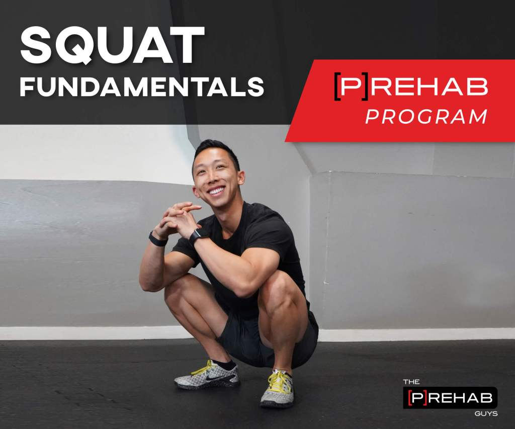 bulgarian split squats squat fundamentals program the prehab guys