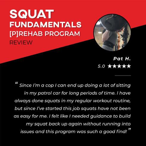 TPG Testimonials - Squat - Pat H.