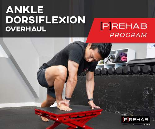 ankle dorsiflexion overhaul program the prehab guys
