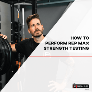 how to perform rep max strength testing blood flow restriction training the prehab guys