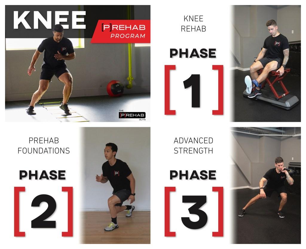 knee extension machine knee prehab program