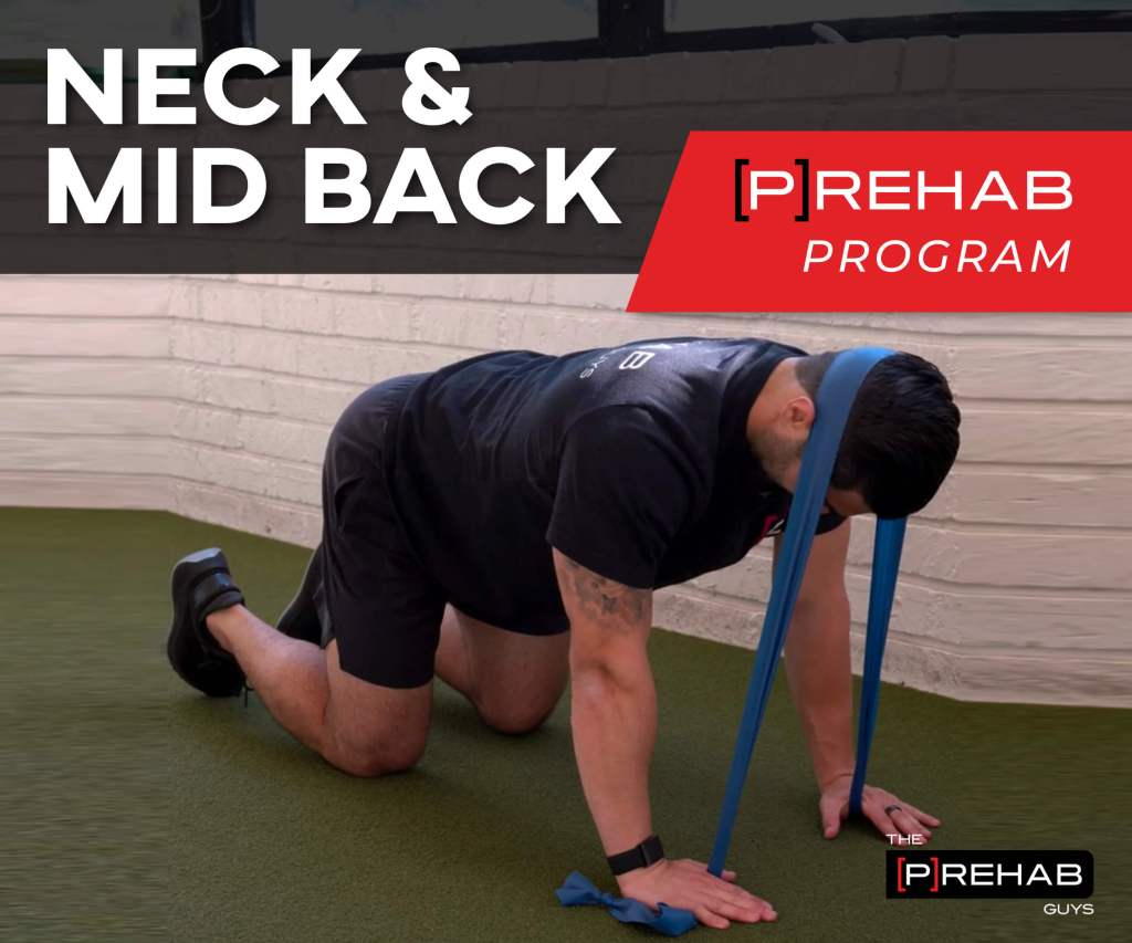 NECK & MID-BACK [P]REHAB PROGRAM