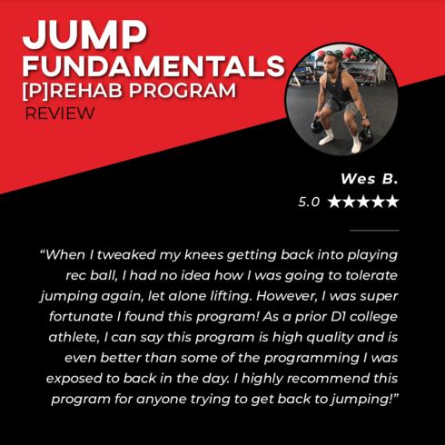 TPG Testimonies - Jump Fundamentals - Wes B
