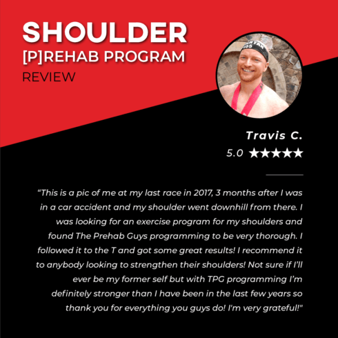 TPG Testimonies - Shoulder - Travis C.