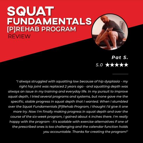 TPG Testimonies - Squat Fundamentals - Pat S