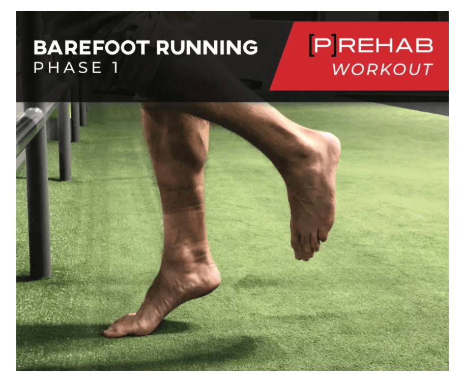 barefoot running phase 1 workout the prehab guys