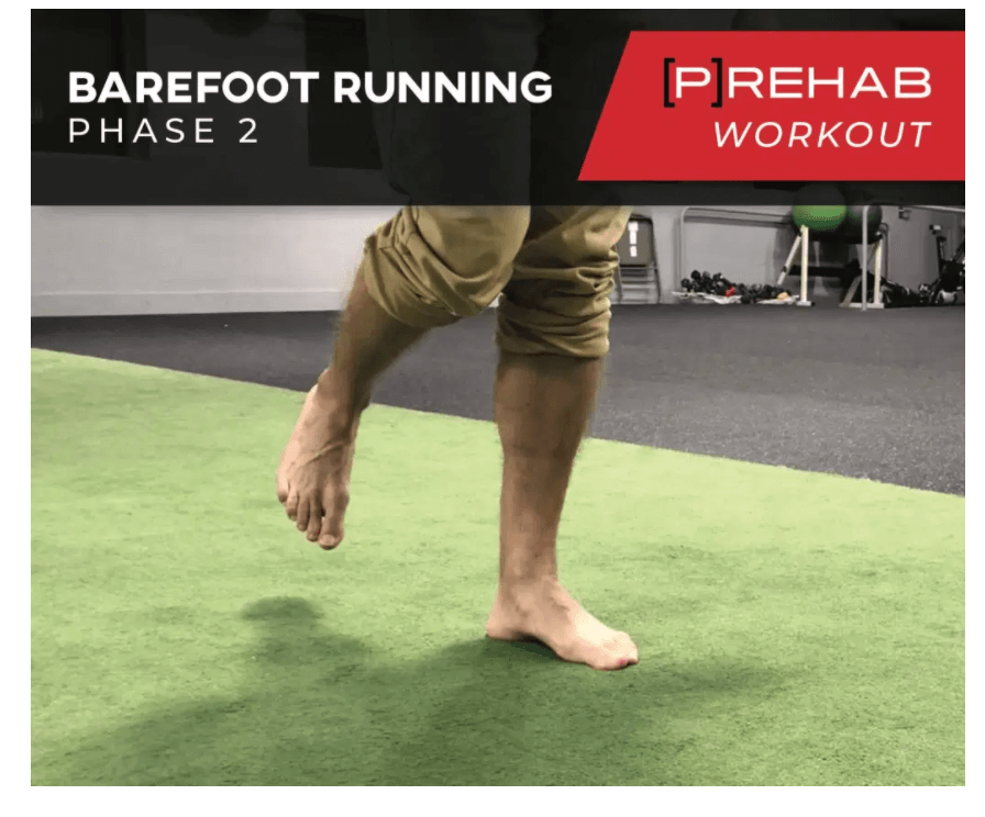 barefoot running phase II workout the prehab guys