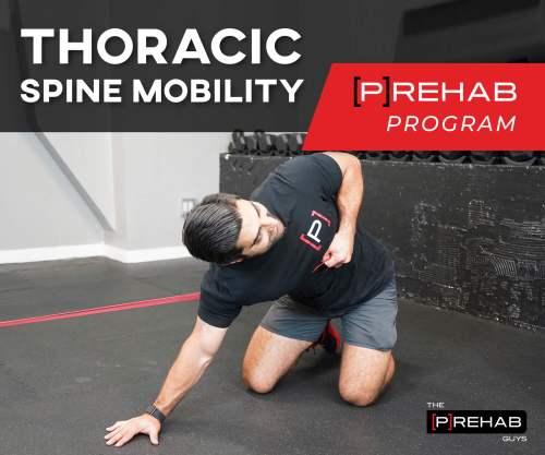 thoracic spine mobility prehab program the prehab guys