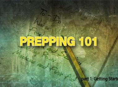 """I have been asked before by friends about how I got started with prepping. It seems the concept can be pretty daunting at first for some people. I can understand how it is when you start to think of the literally hundreds of important items that you need to consider for your family. My first list of """"needs"""" took up an entire sheet of paper. At first glance, this undertaking can appear to be a giant behemoth and some people throw their hands up immediately and give in. I have heard excuses from not having enough money to not knowing where to start. While I agree that some prepper items require money (sometimes a lot!) often there are alternatives to spending a ton of money, but knowing where to start should never be an issue. This post will be a prepping 101 tutorial."""