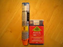 Epi-Pen and Auvi-Q are used for immediate treatment of Anaphylaxis
