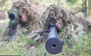 Snipers can eliminate a threat from a distance in stealth