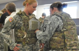 Overt Body Armor Vest as used in the Military