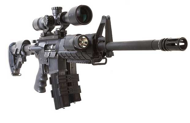 If you have an AR-15 or any rifle really, and you plan on using this in a defensive role should the need arise, you need to consider what is the best scope for your use. Even if you have the venerable AK-47, the scope that you use will greatly determine your capabilities after your natural skill and training have reached their limits. A good scope is a huge benefit in allowing you to accurately acquire a target and with a properly sighted rifle and good fundamentals hit what you are shooting at. There are many different configurations that are possible given the role you intend your AR-15 to be in but I wanted to discuss what I think are some of the best AR-15 scope options you have right now in order to help you hit what you are shooting at in a SHTF scenario.