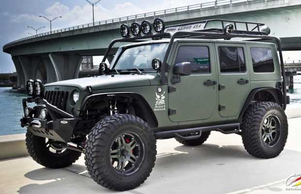 Jeeps are everywhere and are certainly one of the best bug out vehicles.