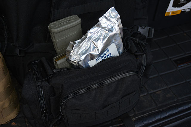 The Deployment pack is the perfect size for some extra rations, spare magazines and blow out kit items.