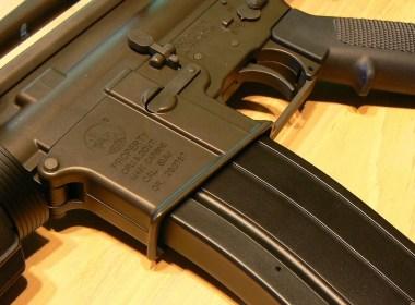 Image of AR15 rifle