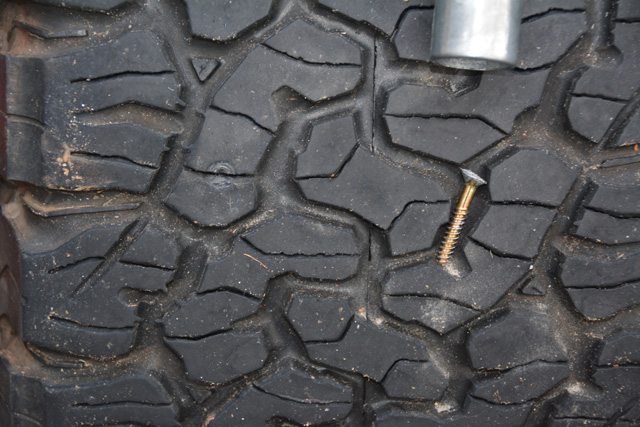 Don't let a relatively minor puncture put you out of commission. Simply having a tire plug kit can get you back on the road and back to safety.