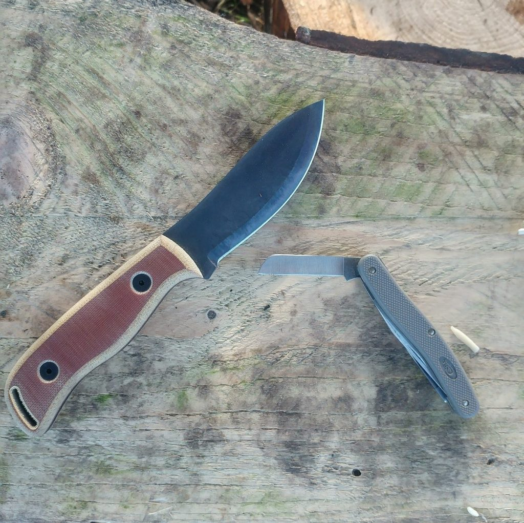 A knife is one of the quintessential bushcraft tools