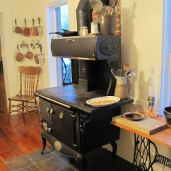Kitchen Cook Stoves Rolling Carts How To Use A Wood Stove Theprepperproject Com In Burning