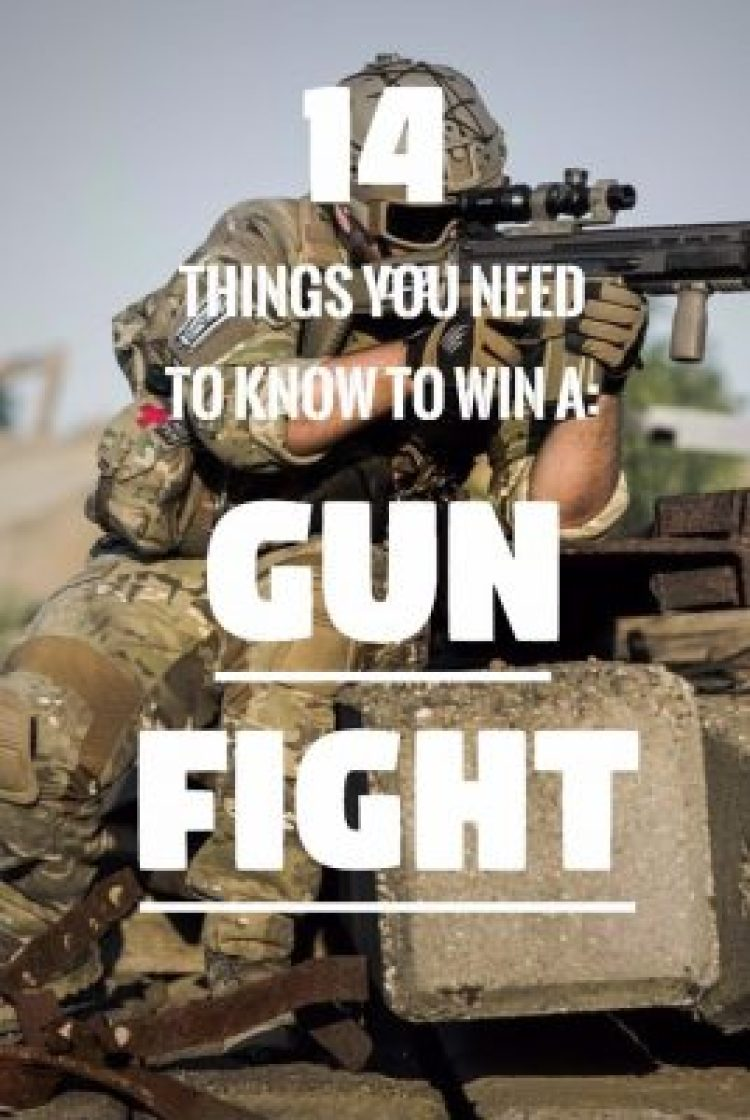 How To Win A Gun Fight: 14 Military Gun Fight Tactics • The Prepping