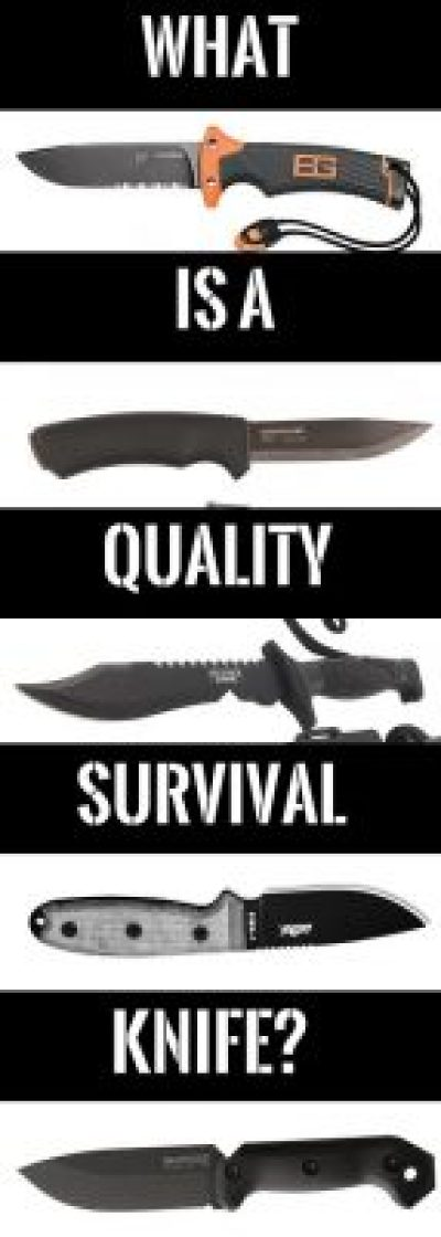 Quality survival knives