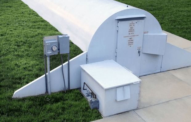 storm shelters above ground underground
