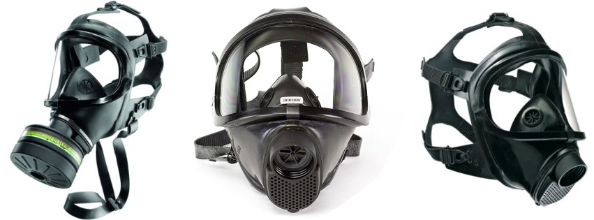 CBRN gas mask