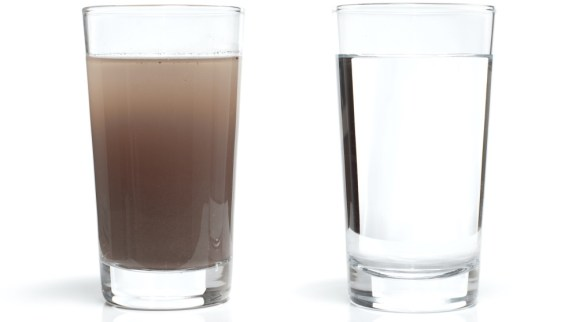 Filtered water vs non-filtered