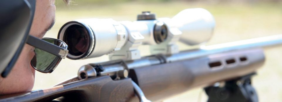 adjust a rifle scope