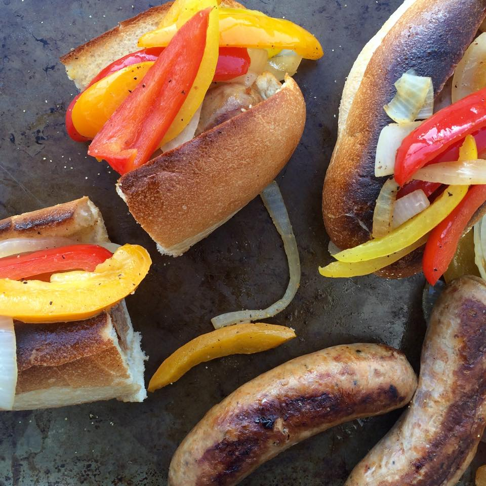 how to cook bell peppers on the grill