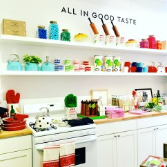 Kate Spade Kitchen Island With Cabinets Home Pop Up Shop Closing May 31st Thepreppymag If You Ve Been Following Me On Instagram Have Already Seen A Sneak Peak Of The In Soho Real Talk This Place Is Ultimate