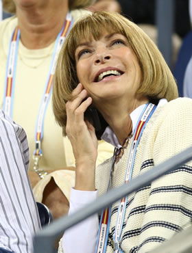 Anna Wintour at US Open 2007