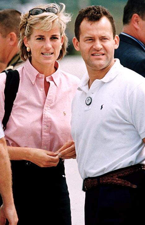 Princess Diana & Paul Burrell
