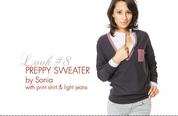 Sonia Rykiel Preppy Sweater