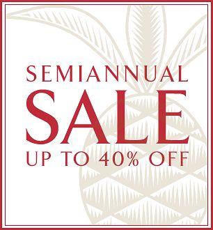 Williams Sonoma Home Sale