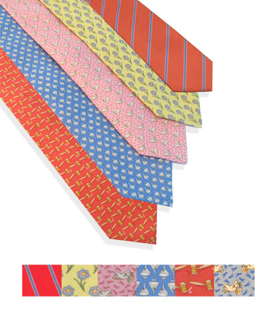 Ann Hand Silk Ties