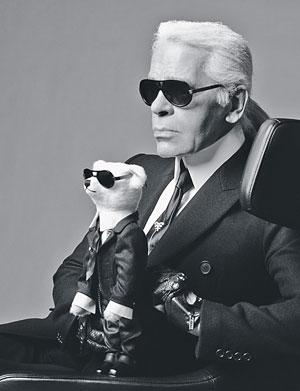 Karl Lagerfeld Courtesy Photo