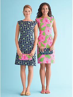 Talbots Stretch Sateen Dress