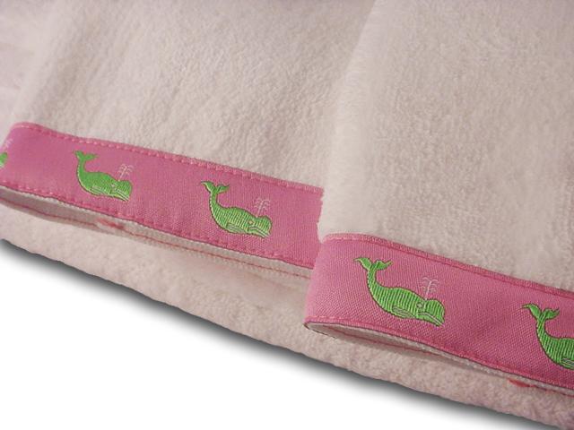 Whale Guest Towels at PreppyPrincess.com
