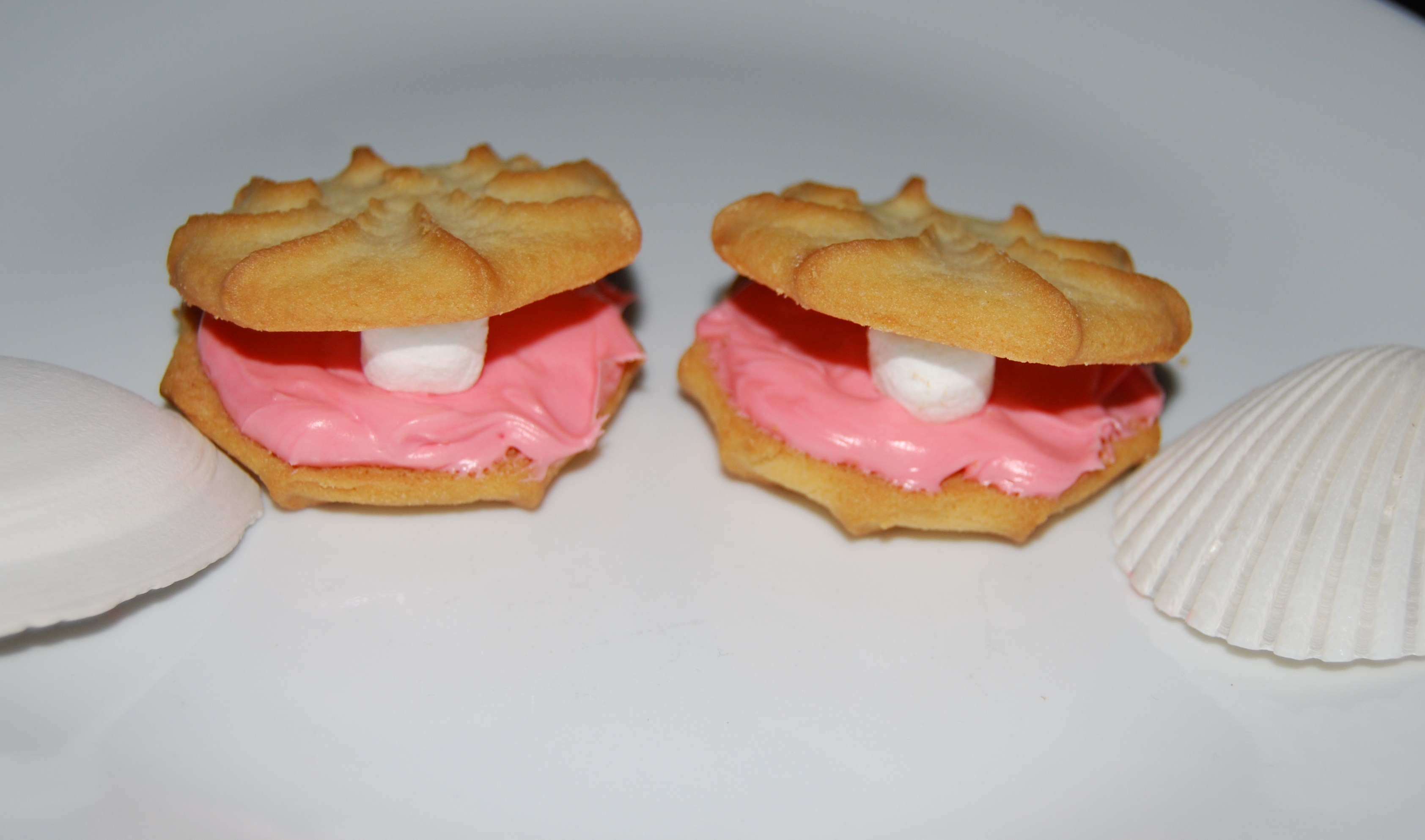 Oyster And Pearl Cookie Snack The Preschool Toolbox Blog