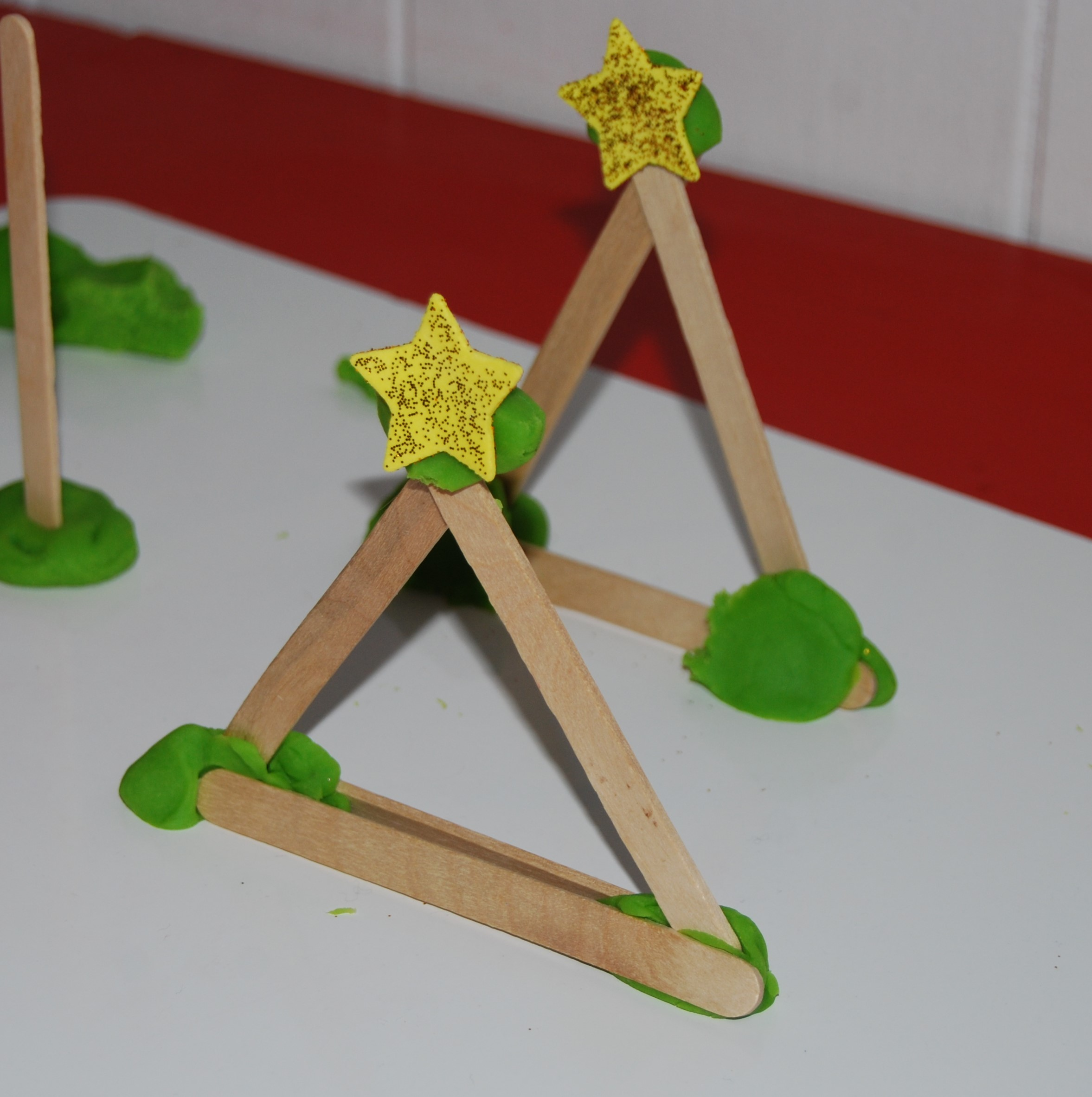 Winter Stem Activity For Preschool Evergreen Tree