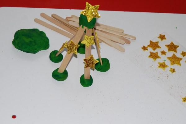 Winter Stem Activity Preschool Evergreen Tree