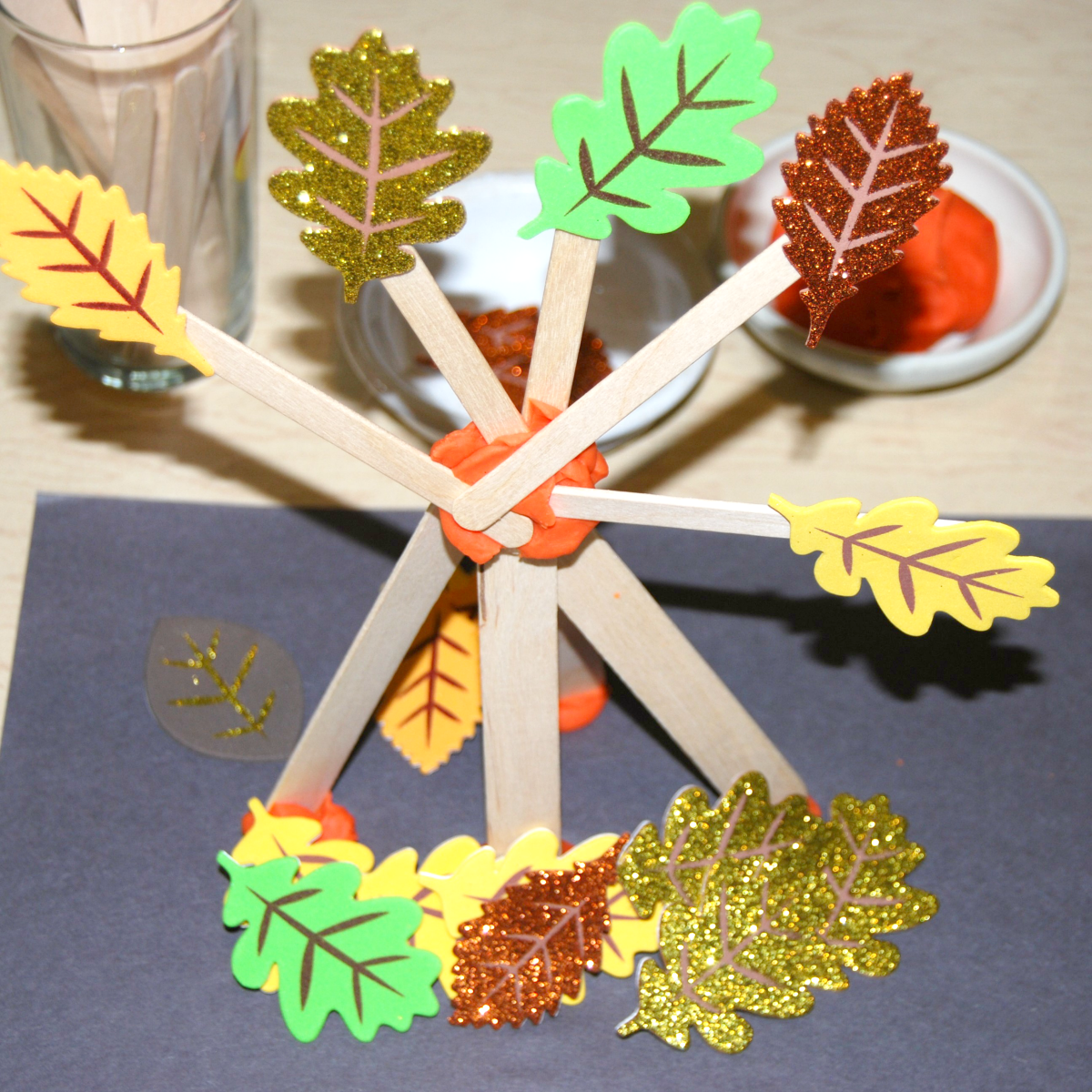 Stem Challenge Constructing A Free Standing Fall Tree