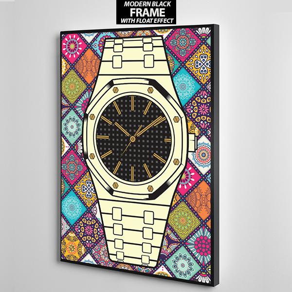 colour bg audermars piguet canvas wall frame