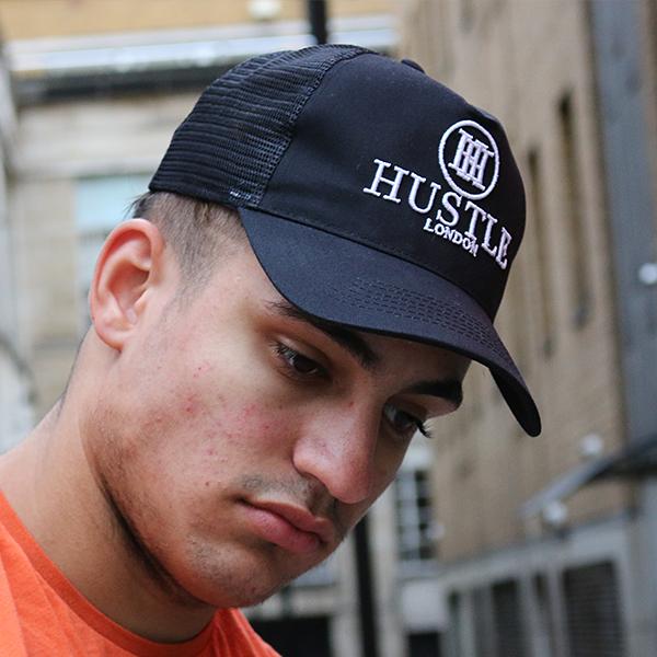 the presidential hustle black trucker hat cap