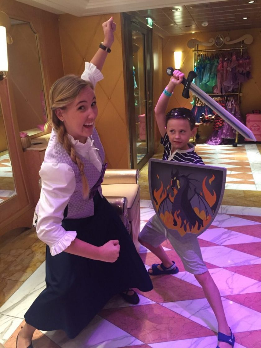 Disney Cruise Bibbidi Bobbdi Boutique
