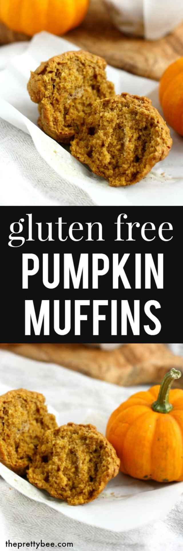 The perfect fall recipe - enjoy these gluten free pumpkin muffins with ...